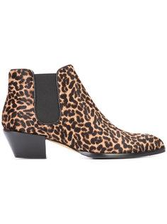 leopard print boots Alexa Wagner