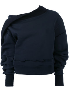 свитер с объемными рукавами Burberry
