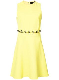 платье с украшением на поясе David Koma