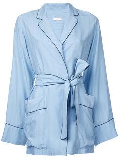 пиджак в полоску в пижамной стиле  Rito