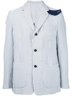 пиджак в полоску Hickory Sacai