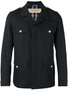 куртка в стиле милитари Burberry
