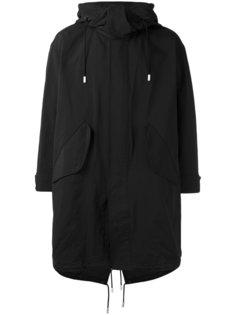 пальто с капюшоном The Reracs
