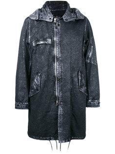 пальто с капюшоном Stone Island Shadow Project