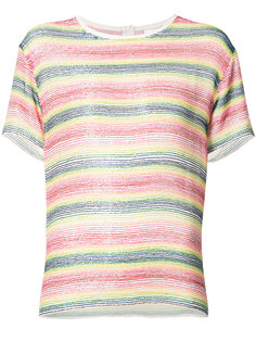 beaded striped T-shirt Ashish