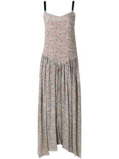длинное платье с цветочным рисунком Twin-Set