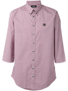 клетчатая рубашка Dsquared2