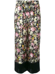укороченные брюки с цветочным принтом 3.1 Phillip Lim