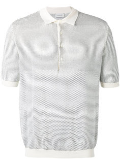 футболка-поло с мелким узором Lemaire