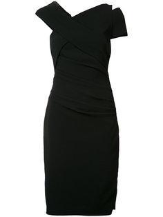 асимметричное платье  Moa Talbot Runhof