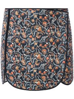 юбка со стеганой отделкой Isabel Marant