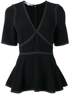 блузка с баской Stella McCartney