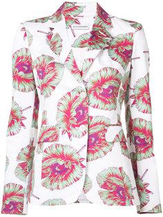 пиджак с принтом Altuzarra