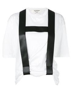 braces detail T-shirt Junya Watanabe Comme Des Garçons