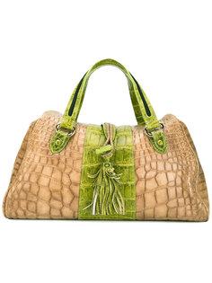 snakeskin effect two-tone bag Giorgio Armani Vintage