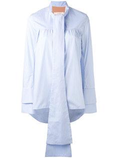 блузка с длинными завязками Ssheena