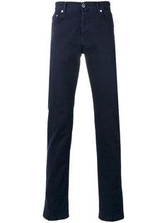 джинсы кроя слим Kiton