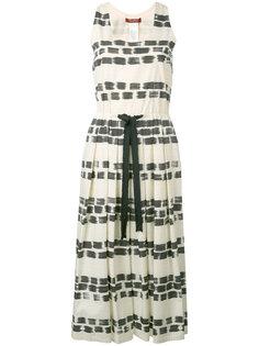 платье с присборенным поясом Canzone  Max Mara Studio