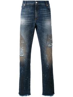 узкие рваные джинсы Alyx