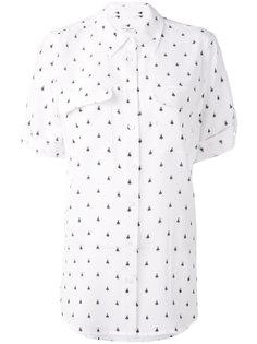 блузка с мелким узором Equipment
