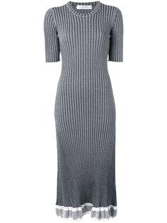 ribbed detail dress  Victoria Beckham