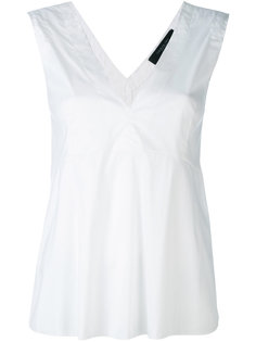 блузка с V-образным вырезом Federica Tosi