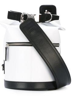 сумка-мешок с принтом-логотипом MSGM