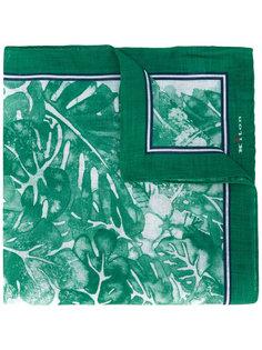 платок с цветочным принтом Kiton