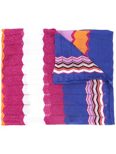 шарф дизайна колор-блок Missoni