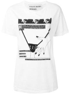 футболка с принтом Enfants Riches Deprimes