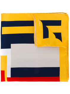 платок с геометрическим принтом Kiton