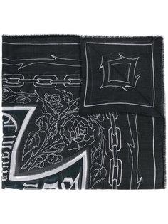 шарф с линейный узором Enfants Riches Deprimes