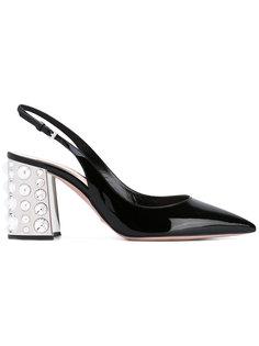 туфли с ремешком на пятке Sebastian Milano