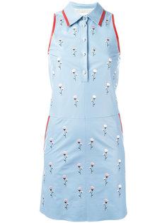 платье с цветочной вышивкой Drome