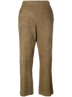 suede cropped trousers Desa 1972