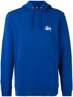 basic Stussy hooded sweatshirt Stussy