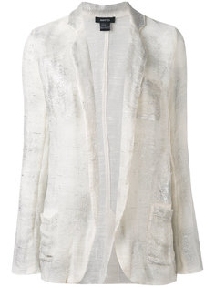 distressed knitted blazer Avant Toi