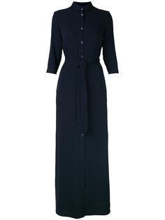 длинное платье-рубашка Tonello