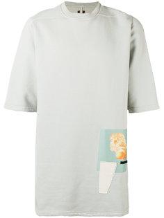 футболка Dinge Felpa Jumbo Rick Owens DRKSHDW