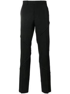 брюки с декоративной строчкой Dior Homme