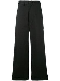 широкие брюки с пуговицами Faith Connexion