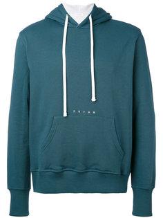stripe back hoodie Futur
