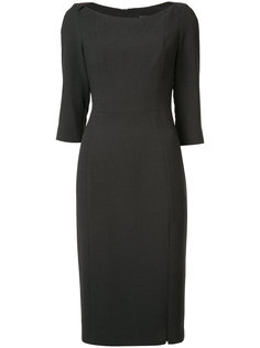 fitted shift dress Black Halo