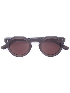 geometric lens sunglasses Lesca