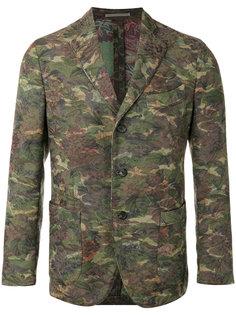 пиджак с цветочным принтом Gabriele Pasini