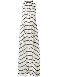 полосатое платье со шнуровкой Iro