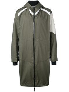 пальто с капюшоном и принтом 11 By Boris Bidjan Saberi
