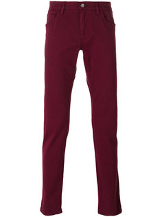 брюки кроя слим Dolce & Gabbana