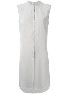 платье-рубашка в полоску Brunello Cucinelli