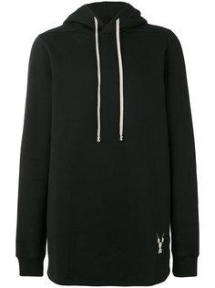 long-sleeved hoodie Rick Owens DRKSHDW